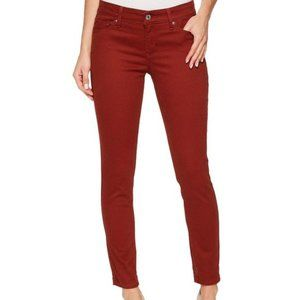 Levi's Brick Red Skinny Ankle Jeans Size 28